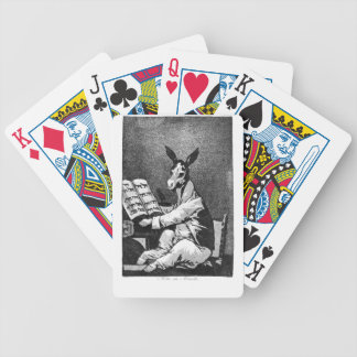 As Far back as his Grandfather by Francisco Goya Bicycle Playing Cards