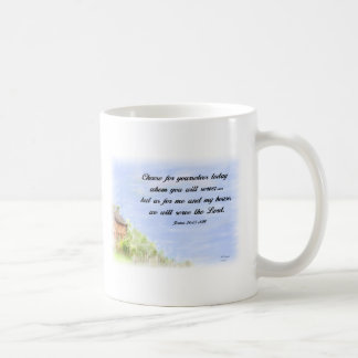 As for me and my house - Mug