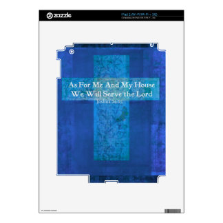 As For Me And My House We Will Serve the Lord Decal For iPad 2