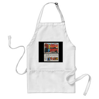 As For Me by Lyn Graybeal Adult Apron