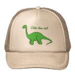 AS- Funny Older than Dirt Dinosaur Hat