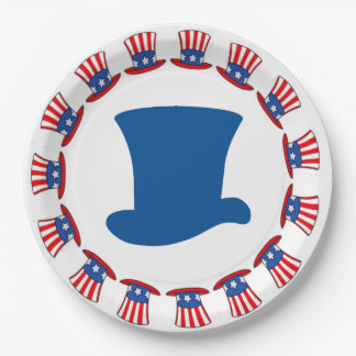 As George Would Veterans Day Party Paper Plates