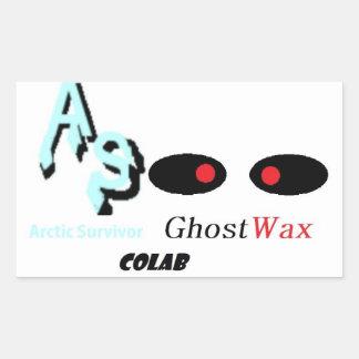 AS GW Colab Rectangular Sticker