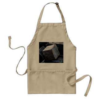 As Hard As Granite Adult Apron