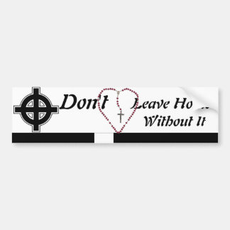 As Heard at Mass   Bumper Sticker