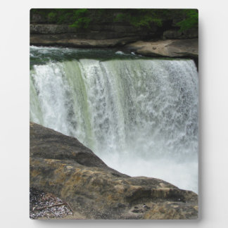 As I saw the falls Plaque