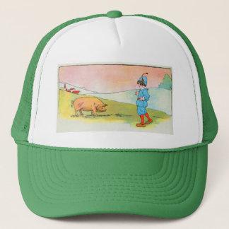 As I went to Bonner, I met a pig Trucker Hat