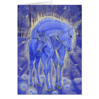 """As If By Magic"" Unicorn Greeting Card"