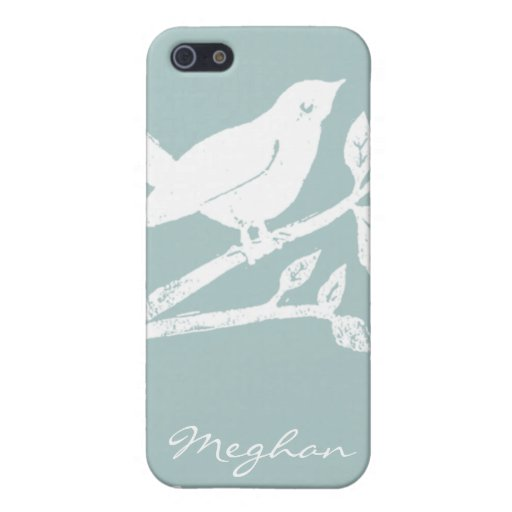 AS iPhone4 Case Blue Bird iPhone 5 Covers