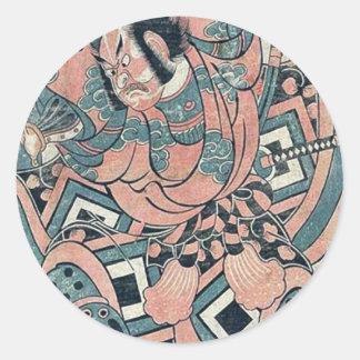 As Kinzaemon Yorikata by Torii Kiyomasu Sticker