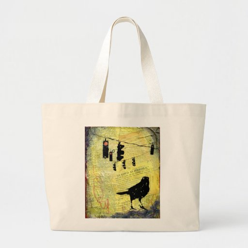 AS LOUD AS POSSIBLE Tote Jumbo Tote Bag