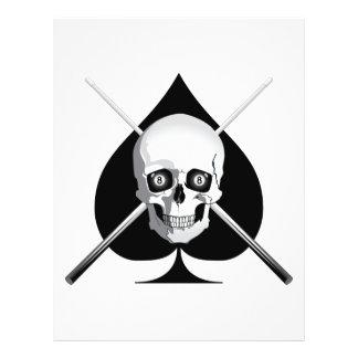 """As mortal de los billares folleto 8.5"""" x 11"""""""