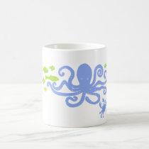 AS Mug Blue Octopus