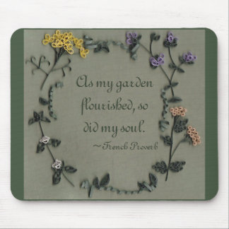 As My Garden Flourished Mousepade Mouse Pad