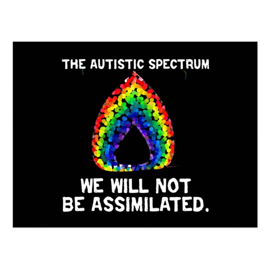 AS: No Assimilation Postcards