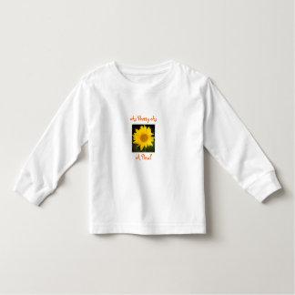 As Pretty As,A Petal-Sunflower-Toddler T-Shirt
