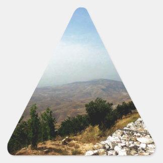As Salt, Jordan Border Triangle Sticker