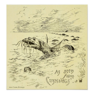 As Seen from Cushings' by John Calvin Stevens 1886 Posters