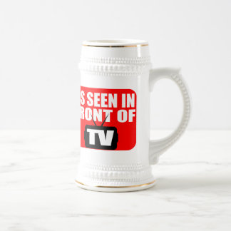 As Seen In Front Of TV 18 Oz Beer Stein