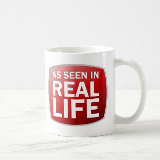 As Seen in Real Life Classic White Coffee Mug