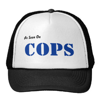 As Seen On, COPS Trucker Hat