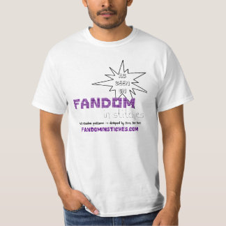 As Seen On Fandom In Stitches T Shirt