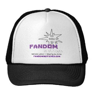 As Seen On Fandom In Stitches Trucker Hat