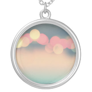 As seen on Lucky Magazine Round Pendant Necklace