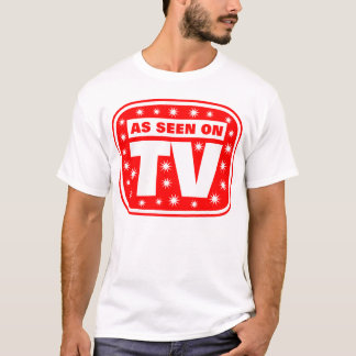 As Seen on TV - CH 2 With Snow Stars T-Shirt