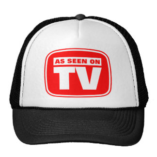 As Seen on TV Hats