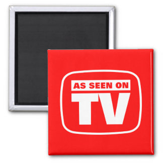 As Seen on TV 2 Inch Square Magnet