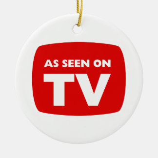 AS SEEN ON TV ornament
