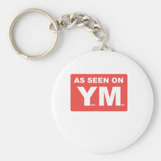 AS SEEN ON: YOUR MOM BASIC ROUND BUTTON KEYCHAIN