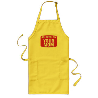 As Seen On Your Mom Long Apron
