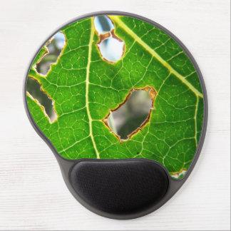 As Seen Through A Leaf Gel Mousepad