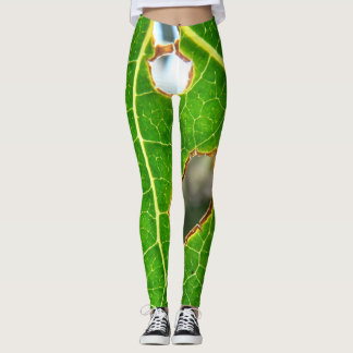 As Seen Through A Leaf Leggings