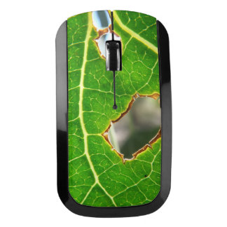 As Seen Through A Leaf Wireless Mouse