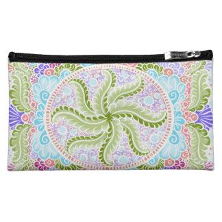 As Spring blooms , Kawaii, spring, flowers Cosmetic Bag