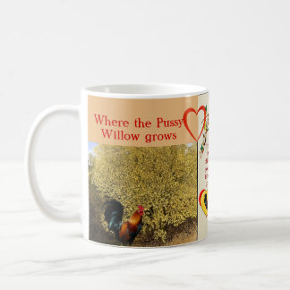 """""""As the catkins sprout in Spring,..."""" Coffee Mugs"""