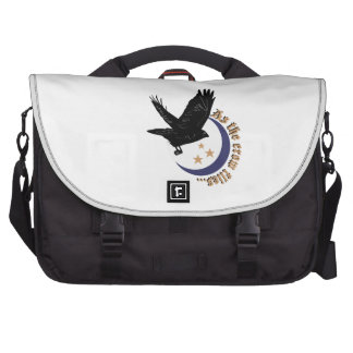 As The Crow Falls Bag For Laptop