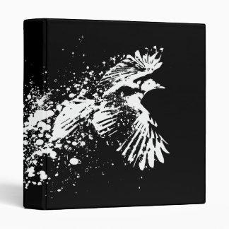 ...as the crow flies vinyl binders