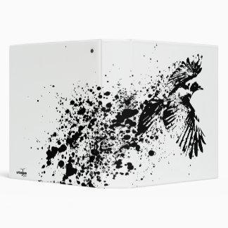 ...as the crow flies vinyl binder