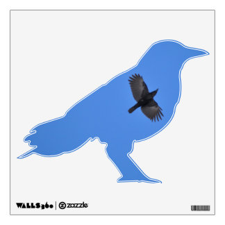 As The Crow Flies Wall Decal - small
