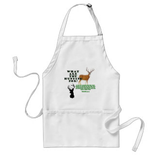 As the Deer Adult Apron