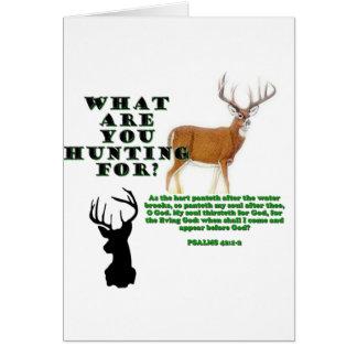 As the Deer Greeting Card