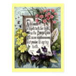 As The Earth Bringeth Forth Post Card