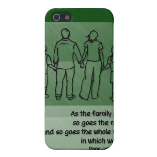 As the family goes ... Pope John Paul II iPhone SE/5/5s Case