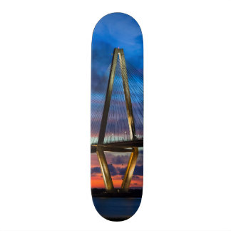As The Lights Come On Skateboard Deck
