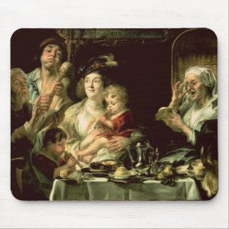 As the Old Sing, so the Young Pipe, 1638 Mouse Pad