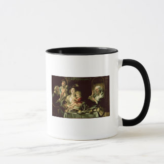 As the Old Sing, so the Young Pipe, 1638 Mug